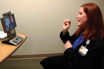 New Video Phones Available for Deaf and Hard-of-Hearing Patients, Visitors - News - University IT