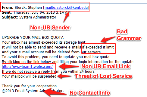 how to use spam in emails