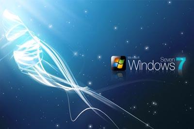 Windows 7 screen