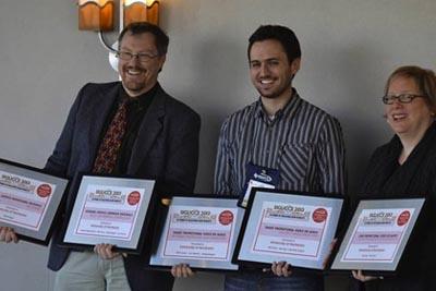 SIGUCCS award presentation