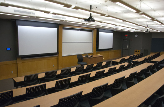 Meliora 221 classroom