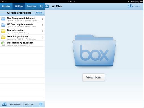 box ipad screenshot
