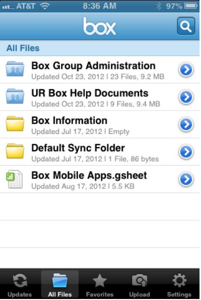 box-iphone-folders - University IT