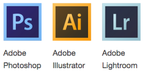 screenshot of adobe software