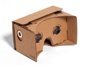 photo of google cardboard