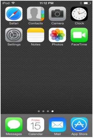 iOS-home
