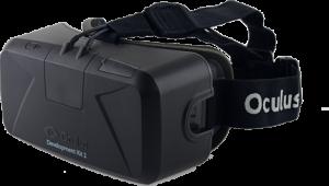 photo of oculus developer kit 2