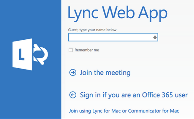Join Skype Meeting as Guest on Mac - University IT