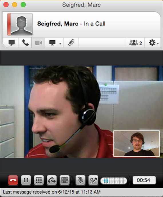 Skype video calling on mac university it start a video call from instant message session ccuart Choice Image