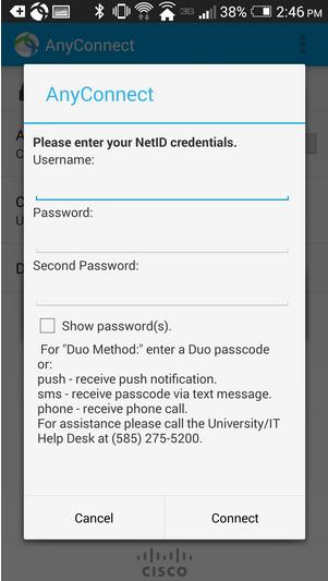 android vpn screenshot