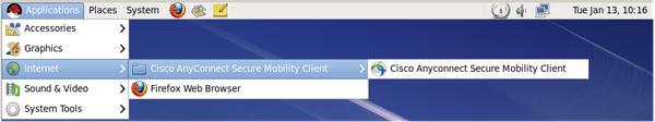 vpn linux screenshot
