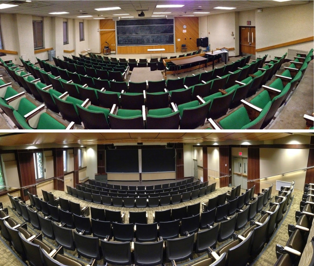 Modern University Classroom ~ Classroom technology upgrades foster modern learning