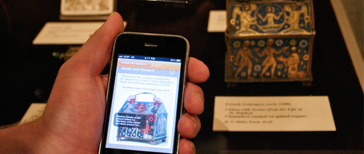 Interns visited the Memorial Art Gallery to learn how the Gallery developed a mobile app for visitors.