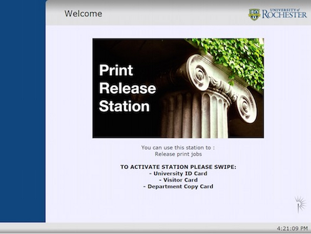 printing release stations screenshot