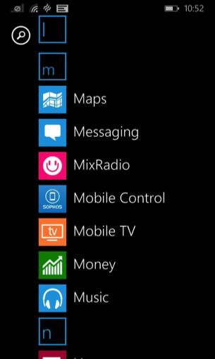 Sophos Mobile Control screenshot