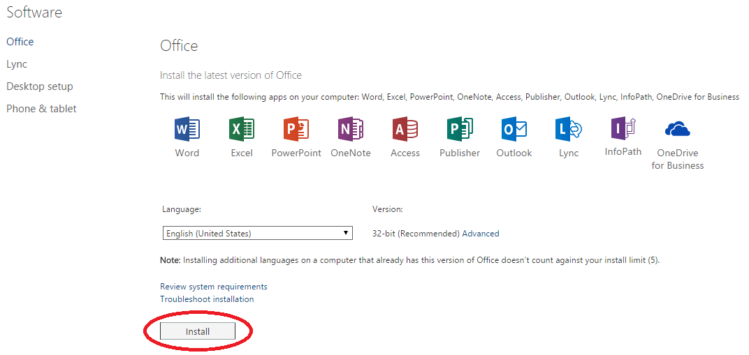 free download office 365 pro plus