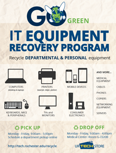 Equipment Recovery Program Flyer