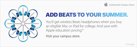 Beats summer promotion