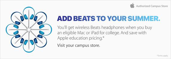 Beats summer promotion