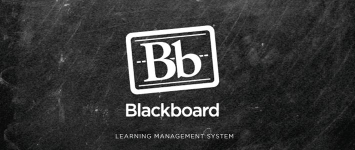 Blackboard Learning Management System University It