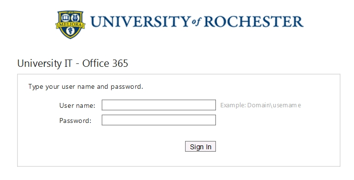 fice 365 Login Changes University IT
