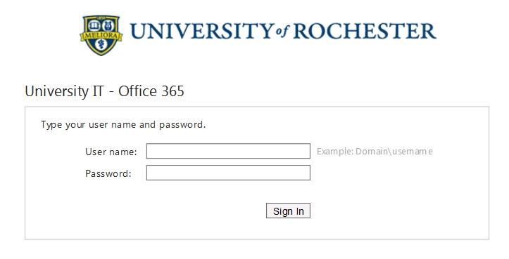 fice 365 Login Changes University IT